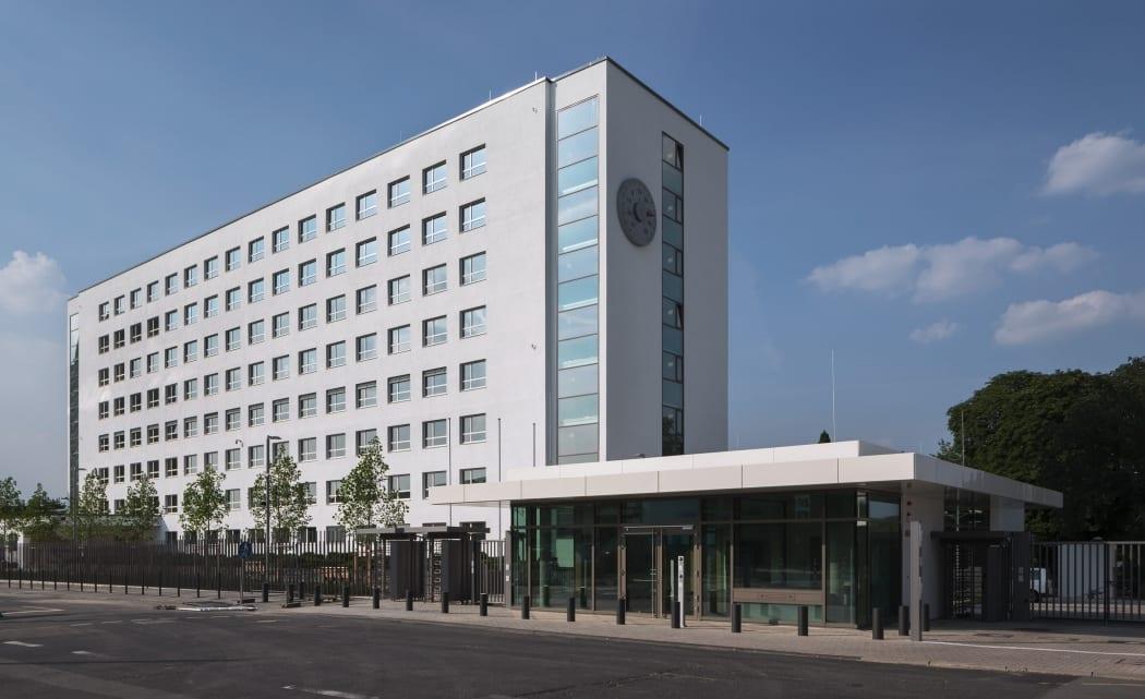 RKW Bonn UN Klimasekretariat klimaschutz Bundeshaus Abgeordnetenhaus Fraktionsbau Denkmalschutz Architekt Hans Schwippert HGEsch 01