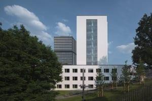 RKW Bonn UN Klimasekretariat klimaschutz Bundeshaus Abgeordnetenhaus Fraktionsbau Denkmalschutz Architekt Hans Schwippert HGEsch 02