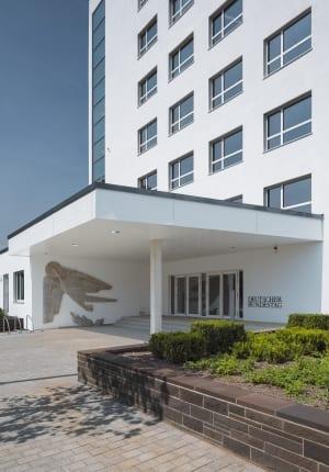 RKW Bonn UN Klimasekretariat klimaschutz Bundeshaus Abgeordnetenhaus Fraktionsbau Denkmalschutz Architekt Hans Schwippert HGEsch 03