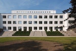 RKW Bonn UN Klimasekretariat klimaschutz Bundeshaus Abgeordnetenhaus Fraktionsbau Denkmalschutz Architekt Hans Schwippert HGEsch 05