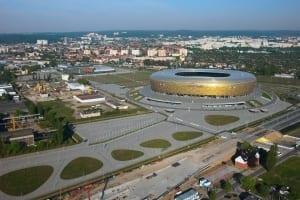 RKW Danzig Polen Stadion Energa PGE Arena Europameisterschaften Fussball UEFA EURO Landmarke A Rys 01