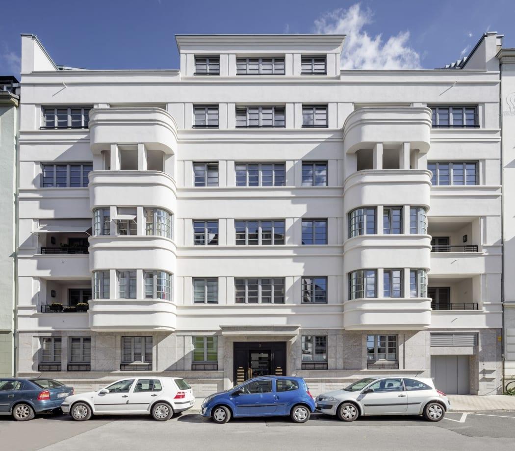 RKW Duesseldorf Bongardstrasse Wohnbebauung Wohnhaus Gebaeudeensemble Wohnpalais Stadtpalais Ralph Richter 01