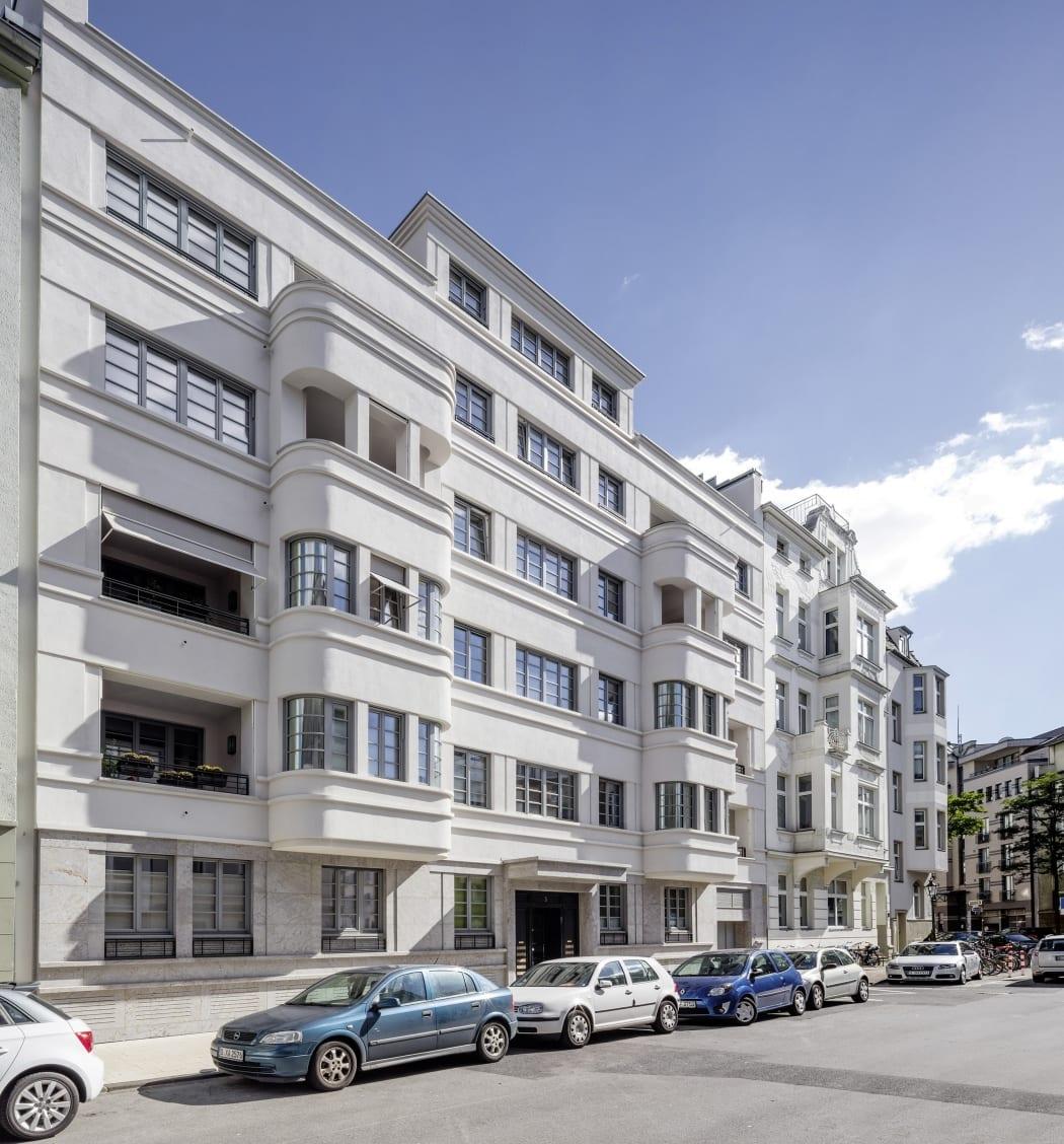 RKW Duesseldorf Bongardstrasse Wohnbebauung Wohnhaus Gebaeudeensemble Wohnpalais Stadtpalais Ralph Richter 02