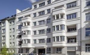 RKW Duesseldorf Bongardstrasse Wohnbebauung Wohnhaus Gebaeudeensemble Wohnpalais Stadtpalais Ralph Richter 04