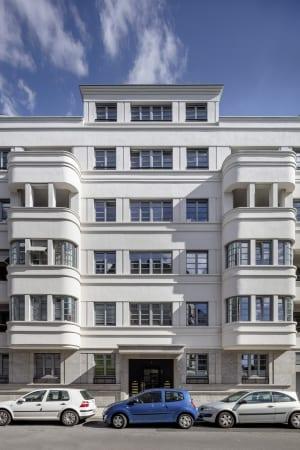 RKW Duesseldorf Bongardstrasse Wohnbebauung Wohnhaus Gebaeudeensemble Wohnpalais Stadtpalais Ralph Richter 05