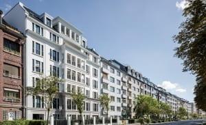 RKW Duesseldorf Cecilienallee Wohnbebauung Wohnhaus Gebaeudeensemble Wohnpalais Stadtpalais Concierge Ralph Richter 02