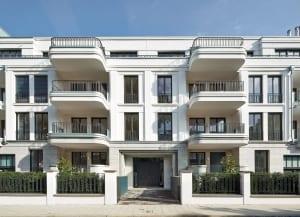 RKW Duesseldorf Cimbernstrasse Wohnbebauung Wohnhaus Oberkassel Strassenzug Ralph Richter 01