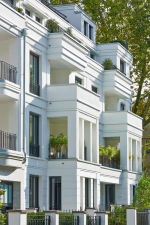 RKW Duesseldorf Cimbernstrasse Wohnbebauung Wohnhaus Oberkassel Strassenzug Ralph Richter 03