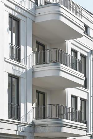 RKW Duesseldorf Cimbernstrasse Wohnbebauung Wohnhaus Oberkassel Strassenzug Ralph Richter 04