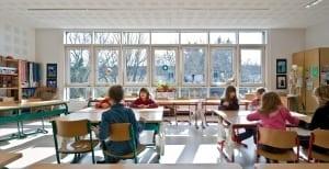 RKW Duesseldorf Einsiedelstrasse Ganztagsschule Bestandsgebaeude Grundschule katholisch Tomas Riehle 06