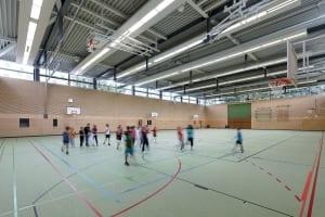 RKW Duesseldorf Ersatzneubau Dreifachsporthalle Sporthalle Stockum Max Planck Gymnasium Koetschaustrasse Michael Reisch 04