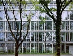 RKW Duesseldorf Feldmuehleplatz 50er Jahre Firmensitz Freshfields Bruckhaus Deringer Entwurf Richard Meier und Partner New York Tomas Riehle 02