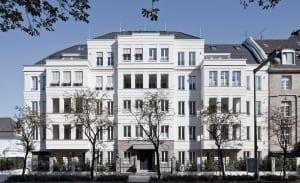 RKW Duesseldorf Haus Belvedere Wohnbebauung Wohnhaus Golzheim Stadtquartier Wohnpalais Roland Borgmann 01