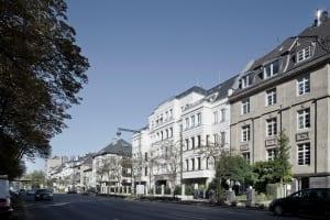 RKW Duesseldorf Haus Belvedere Wohnbebauung Wohnhaus Golzheim Stadtquartier Wohnpalais Roland Borgmann 02