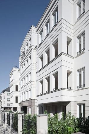 RKW Duesseldorf Haus Belvedere Wohnbebauung Wohnhaus Golzheim Stadtquartier Wohnpalais Roland Borgmann 03