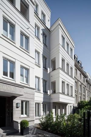 RKW Duesseldorf Haus Belvedere Wohnbebauung Wohnhaus Golzheim Stadtquartier Wohnpalais Roland Borgmann 04