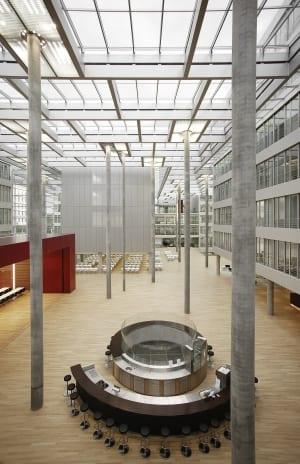RKW Duesseldorf Haus der Aerzteschaft Auszeichnung guter Bauten 2003 Office of the year 2004 Innovationspreis Architektur 2007 Ansgar M van Treeck 04