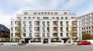 RKW Duesseldorf Kentenich Hof Gerhard Domagk Strasse Wohnbebauung Wohnhaus Gebaeudeensemble Wohnpalais Stadtpalais Ralph Richter 01