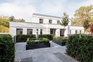RKW Duesseldorf Kentenich Hof Gerhard Domagk Strasse Wohnbebauung Wohnhaus Gebaeudeensemble Wohnpalais Stadtpalais Ralph Richter 08