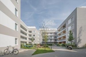 RKW Duesseldorf Malmeddyer Strasse gefoerderter Wohnungsbau Sozialwohnungen Ralph Richter 01