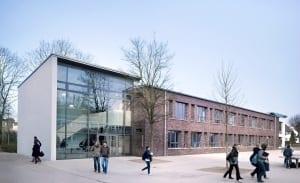 RKW Duesseldorf Marie Curie Gymnasium Erweiterungsbau Schul Campus Michael Reisch 01