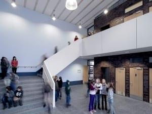 RKW Duesseldorf Marie Curie Gymnasium Erweiterungsbau Schul Campus Michael Reisch 02