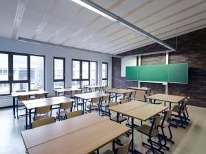RKW Duesseldorf Marie Curie Gymnasium Erweiterungsbau Schul Campus Michael Reisch 03