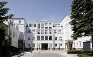 RKW Duesseldorf Mercatorstrasse Wohnbebauung Wohnhaus historischern Kontext Stadtquartier Wohnpalais Werner Huthmacher 01