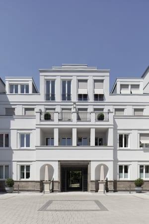 RKW Duesseldorf Mercatorstrasse Wohnbebauung Wohnhaus historischern Kontext Stadtquartier Wohnpalais Werner Huthmacher 02