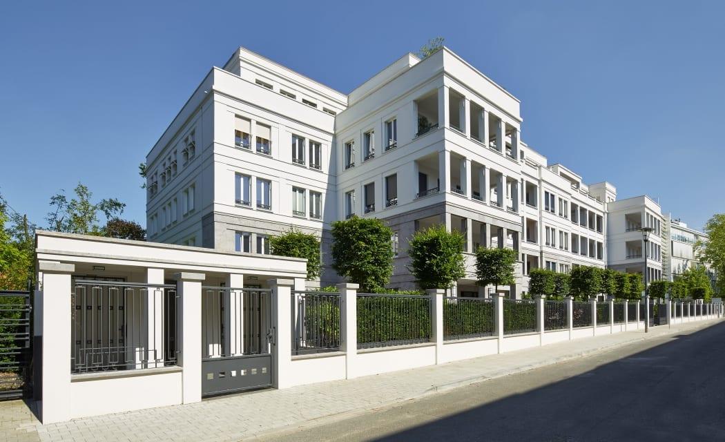 RKW Duesseldorf Moenchenswerther Strasse Wohnbebauung Wohnhaus Oberkassel Stadtquartier Wohnpalais Ralph Richter 02