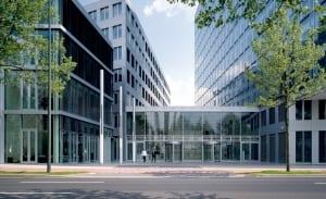 RKW Duesseldorf NRW Bank Hochhaus Bank Rheinkniebruecke Koenigsallee Tomas Riehle 04