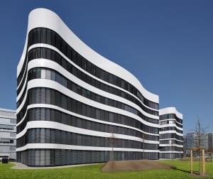 RKW Duesseldorf Panta Rhei Businesspark Flughafen Kunstobjekt LEED Gold Ralph Richter 02