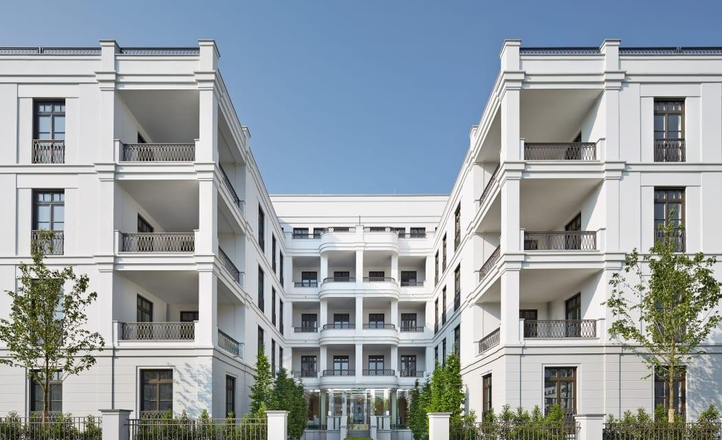 RKW Duesseldorf Schanzenstrasse Wohnbebauung Wohnhaus Gebaeudeensemble Wohnpalais Stadtpalais Concierge Ralph Richter 01