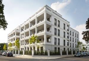 RKW Duesseldorf Schanzenstrasse Wohnbebauung Wohnhaus Gebaeudeensemble Wohnpalais Stadtpalais Concierge Ralph Richter 02