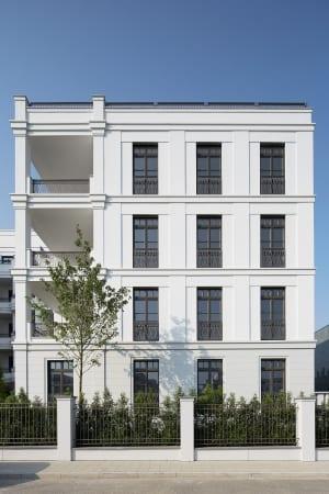 RKW Duesseldorf Schanzenstrasse Wohnbebauung Wohnhaus Gebaeudeensemble Wohnpalais Stadtpalais Concierge Ralph Richter 06