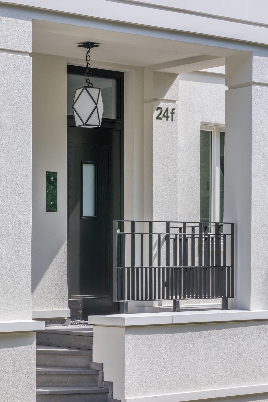 RKW Duesseldorf Sybelstrasse Crecent Garden Wohnbebauung Wohnhaus Gebaeudeensemble Wohnpalais Stadtpalais Ralph Richter 05