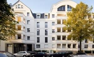 RKW Duesseldorf Unter den Linden Lindenstrasse Wohnbebauung Wohnhaus Flingern Stadtquartier historischer kontext Roland Borgmann 02