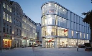 RKW Erfurt Buero und Geschaeftshaus Karstadt Sport Innenstadt historischer Platz Anger HGEsch 01