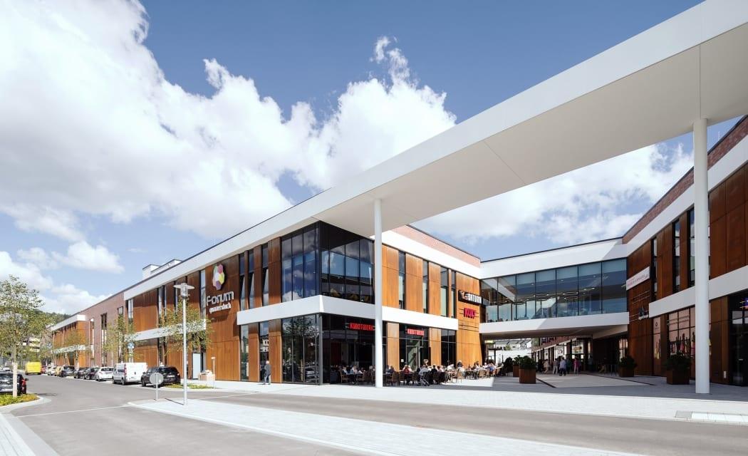 RKW Gummersbach Forum Gummersbach Shopping Center Einzelhandel Einkaufszentrum Steinmuellergelaende Marcus Schwier 01