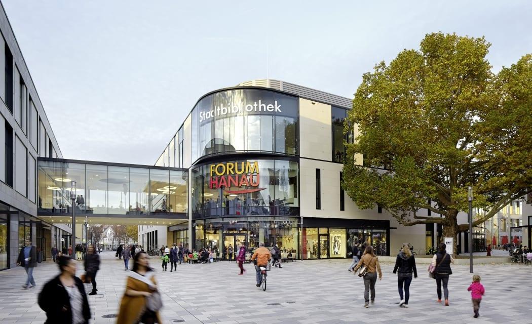 RKW Hanau Forum Hanau Shopping Center Einzelhandel Einkaufszentrum Wettbewerblicher Dialog Immobilienmanager Award 2015 Innovationspreis GCSC 2014 Marcus Schwier 01