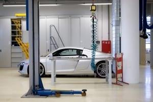 RKW Ingolstadt Audi Campus GEZ Getriebe und Emissionszentrum Pruefstaende Werkstaette Quattrohoehenkammer Bernd Noering 03