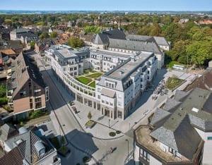 RKW Kempen Klosterhof Wohnbebauung Wohnhaus Gebaeudeensemble Wohnpalais Stadtpalais Altstadt Ralph Richter 01