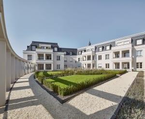 RKW Kempen Klosterhof Wohnbebauung Wohnhaus Gebaeudeensemble Wohnpalais Stadtpalais Altstadt Ralph Richter 02