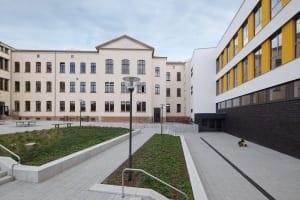 RKW Leipzig Adolph Diesterweg Schule Foerderschule Grund und Mittelschule Sanierung Erweiterungsbau Ganztagsschulkonzept Gunter Binsack 03