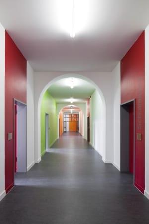 RKW Leipzig Adolph Diesterweg Schule Foerderschule Grund und Mittelschule Sanierung Erweiterungsbau Ganztagsschulkonzept Gunter Binsack 05