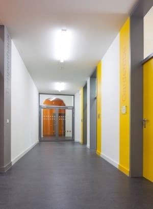 RKW Leipzig Adolph Diesterweg Schule Foerderschule Grund und Mittelschule Sanierung Erweiterungsbau Ganztagsschulkonzept Gunter Binsack 07