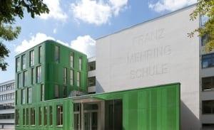 RKW Leipzig Franz Mehring Schule Erweiterungsbau Plattenbau Ganztagsschulkonzept Gunter Binsack 01
