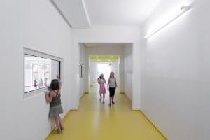 RKW Leipzig Franz Mehring Schule Erweiterungsbau Plattenbau Ganztagsschulkonzept Gunter Binsack 05