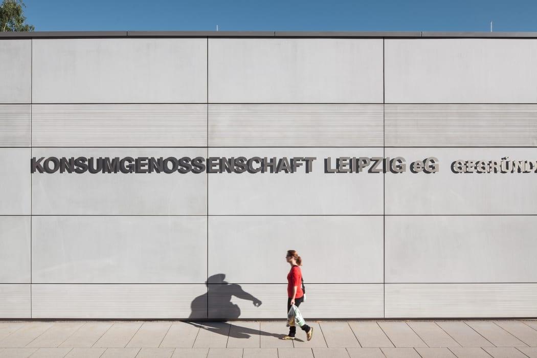 RKW Leipzig Konsum Bachviertel Supermarkt Dienstleistungsgebaede Architekturpreis Stadt Leipzig2007 Gunter Binsack 05