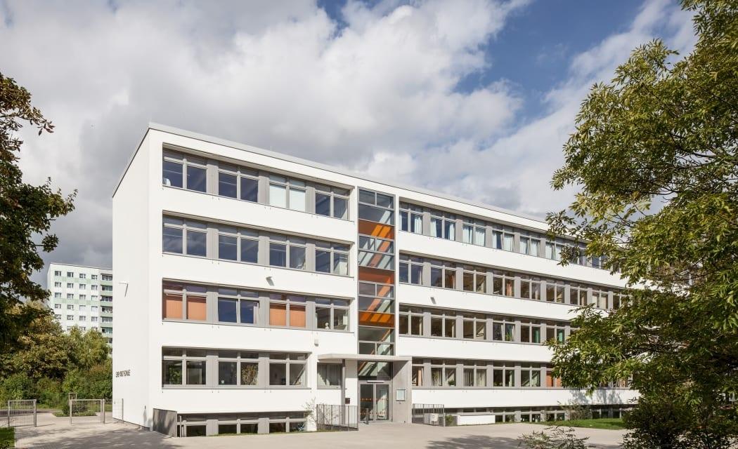 RKW Leipzig Lene Voigt Schule Mittelschule Sanierung Ertuechtigung Plattenbau Gunter Binsack 01